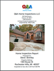 Full Home Inspection Report