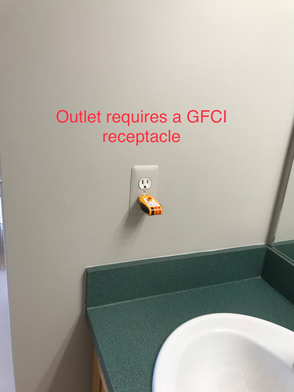 Outlet Requires A GFCI Receptacle